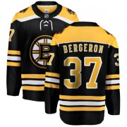 Fanatics Branded Patrice Bergeron Boston Bruins Home Breakaway Jersey - Black