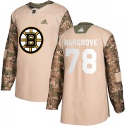 Adidas Colton Hargrove Boston Bruins Authentic Veterans Day Practice Jersey - Camo