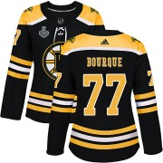 Adidas Raymond Bourque Boston Bruins Authentic Home 2019 Stanley Cup Final Bound Jersey - Black